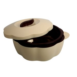 Amazon- Buy Cello Bloom Plastic Casserole, 2.5 Litres, Brown for Rs 382