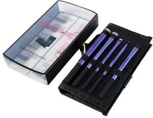 Amazon - Buy Puna Store Cosmetic Makeup Brush Set, 5 Pieces Set with Storage Pouch at Rs 299 only