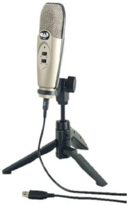 Amazon- Cad U37 Usb Studio Condenser Recording Microphone