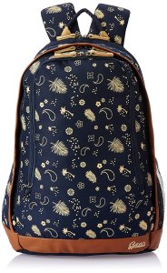 Amazon Gear Triumph 26 ltrs Navy Blue and Beige Casual Backpack
