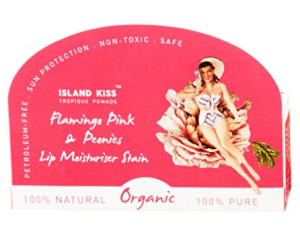 Island Kiss, 100% Natural & Organic Lip Balm, Moisturiser & Stain Triple Pack