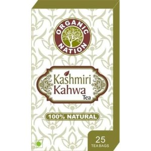 Organic Nation Kashmiri Kahwa 25 Tea Bags for Rs 105