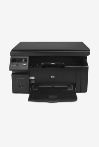 TataCliq - Buy HP LaserJet Pro M1136 All-in-One Laser Printer (Black) for Rs 5700