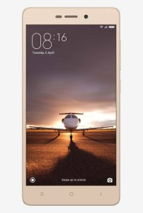 Xiaomi Redmi 3S Prime 4G Dual SIM 32 GB (Gold) for Rs 8999