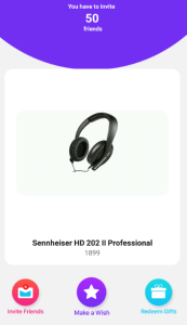 flochat app get sennheiser headphones for 50 friends