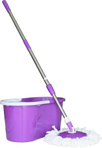 Amazon- Buy Princeware 6207 360-Degree Magic Mop (Purple) for Rs 699 only