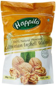 Happilo 100% Natural Premium Californian Inshell Walnuts