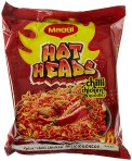 Amazon- Buy Maggi Hotheads Noodles, Chilli Chicken, 71g (Pack of 10)  at Rs 136 only
