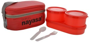Amazon- Buy Nayasa Duplex Softline Plastic Lunch Box