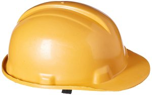 Amazon- Buy Safari Pro Labour Safety Helmet, Dark Yellow