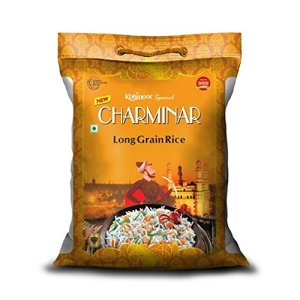 Amazon Pantry - Buy Kohinoor Charminar Long Grain Rice, 5kg at Rs 289 only