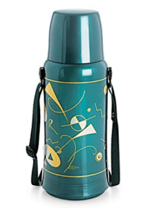 Cello Orchid Belt Flask, 750ml, Green at rs.209