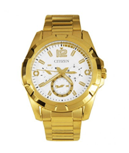 Citizen Analog White Dial Men's Watch-AG8332-56A at rs.5,965