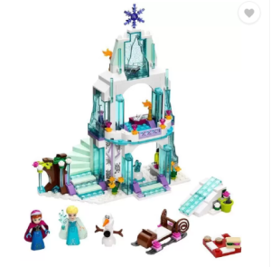 Emob 299 PCS Happy Princess Sparkling Ice Castle Doll House Block Set (Multicolor) at rs.949