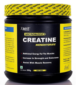 Healthvit Fitness Micronised Creatine Monohydrate Powder