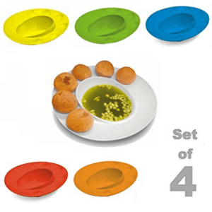 Inovera Pani Puri Serving Dish Bowl Plate-Set of 4, Assorted at rs.216