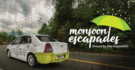 Ola- Get Flat Rs 400 off on First Outstation Ride and 15% off on next