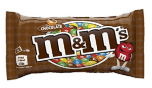 Amazon – M&M's Milk Chocolate, 45g  at Rs 55 only