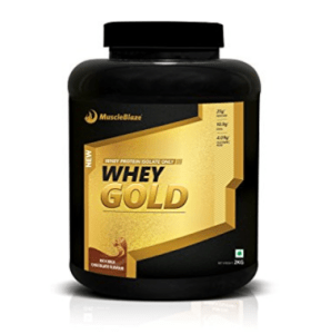 MuscleBlaze Whey Gold, 2 kg / 4.4 lb Rich Milk Chocolate at rs.2,599
