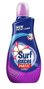 Amazon- Surf Excel Matic Liquid Detergent Front Load 1.02L at Rs.190 Only