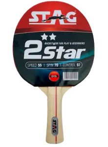 PayTM- Buy Stag 2 Star Table Tennis Racquet (Black And Red) for Rs 173 + Free Shipping