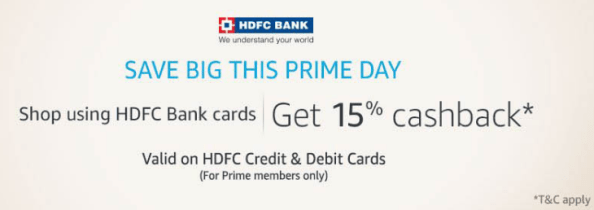hdfc prime offer