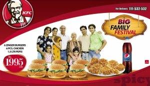 KFC Big Family Festival