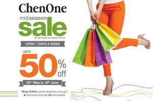 ChenOne Mid Season Sale 2015