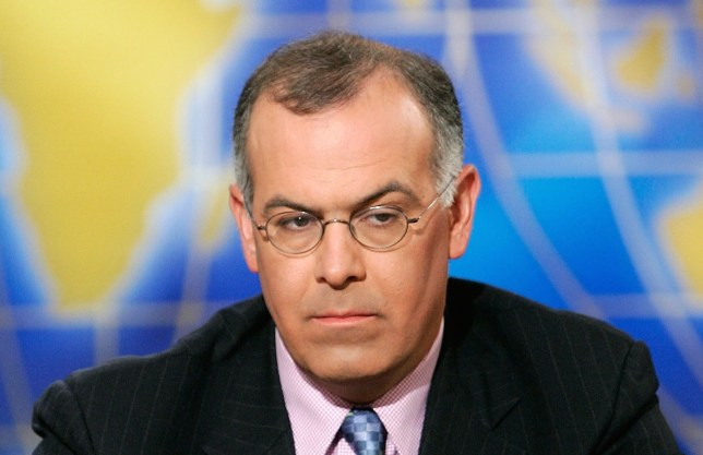 """WASHINGTON - JULY 22: (AFP OUT) New York Times columnist David Brooks listens during a taping of """"Meet the Press"""" at the NBC studios July 22, 2007 in Washington, DC. Brooks spoke on various topics including the current situation of the war in Iraq. (Photo by Alex Wong/Getty Images for Meet the Press) *** Local Caption *** David Brooks"""