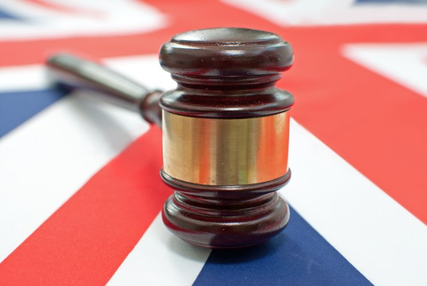 photo (gavel and uk flag)