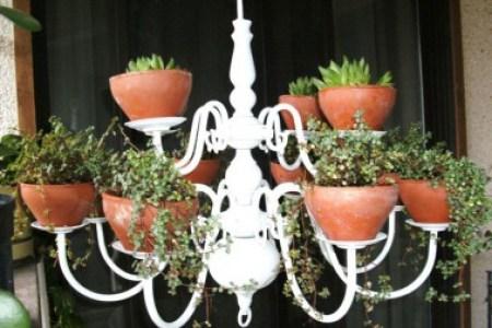 astuce decoration porte plante a fabriquer soi meme lustre jardin e1423509872635