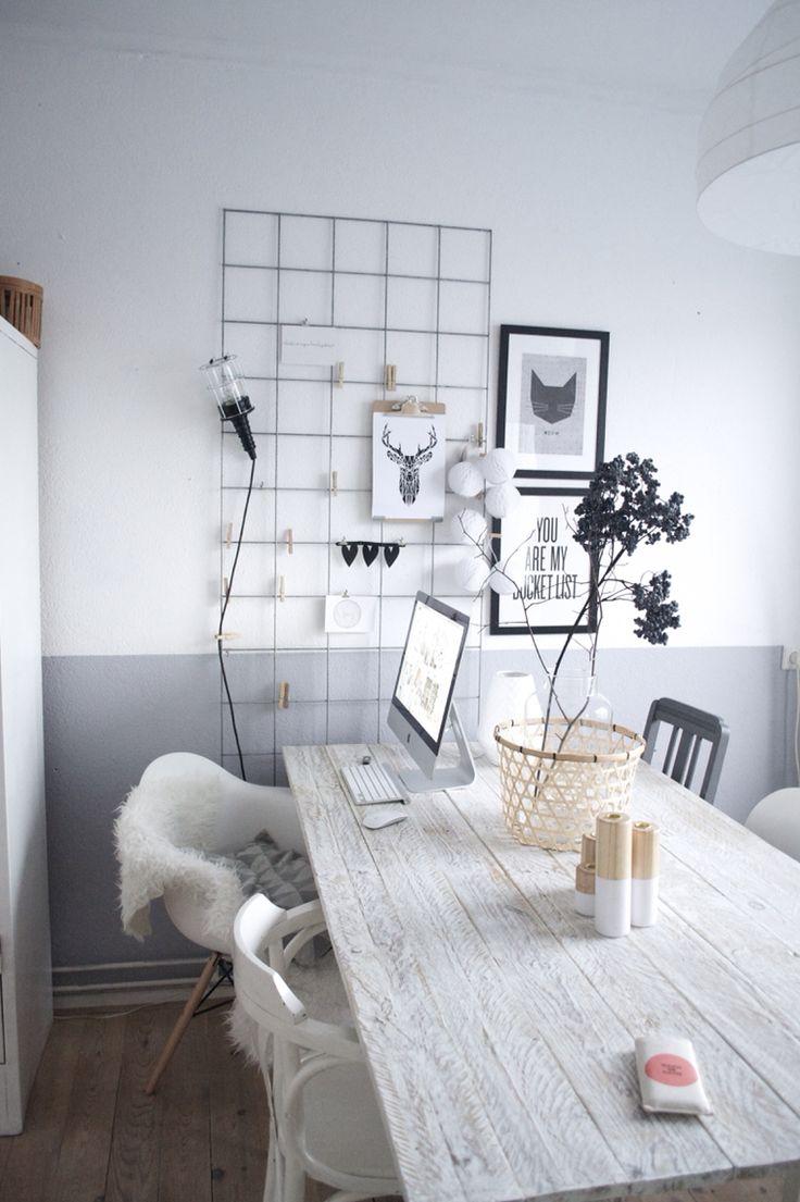 10 jolis bureaux pour travailler ou bloguer de chez soi for Idee pour travailler chez soi