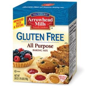 Arrowhead Mill's gluten free all purpose baking mix. (Source: arrowheadmills.com)