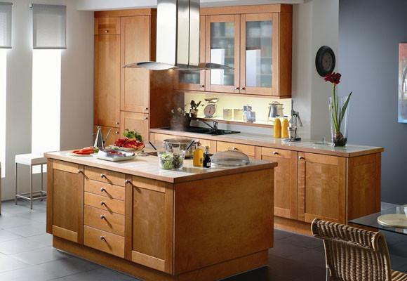 Armarios de cocina: materiales y ventaja