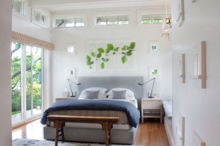 small master bedroom ideas sliding gl door with roman shades comfy bed and headboard wall decor 2 nightstands