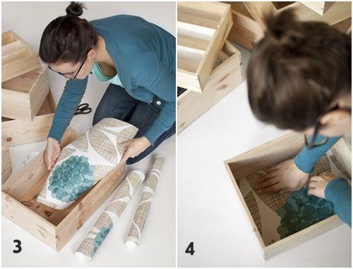 Tutorial cómo decorar con cajas de madera 4