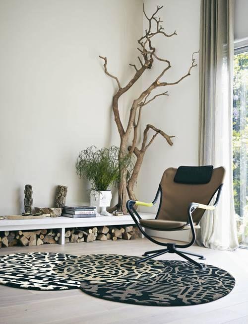 Rboles secos para decorar interiores de casas decomanitas - Arboles decorativos ...
