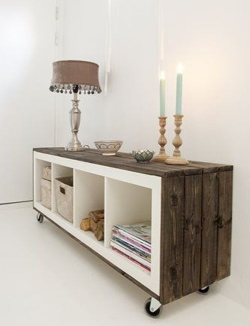 C mo transformar muebles ikea tunear estanter as ikea - Ideas con muebles de ikea ...