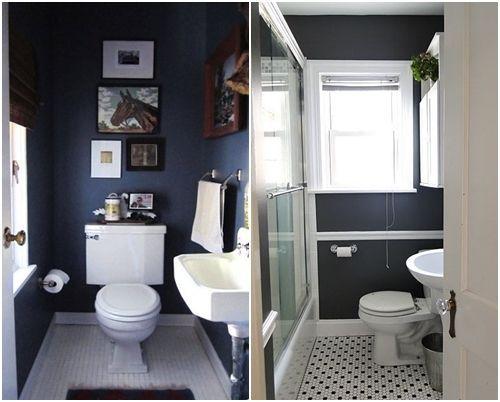 Decorar Baño Bajo Escalera:Cómo decorar baños pequeños