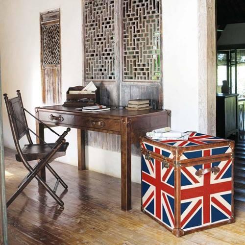 Muebles vintage ideas para decorar con baules 3 decomanitas - Baules para decorar ...