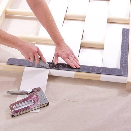 Cabeceros de cama originales para hacer con tiras - Cabeceros de cama originales ...
