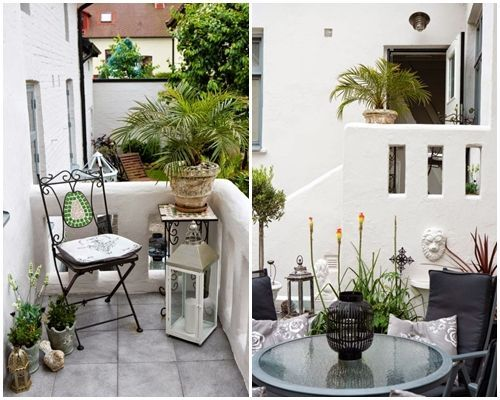 Ideas de decoraci n inspiradoras para porches jardines y for Dec para terrazas