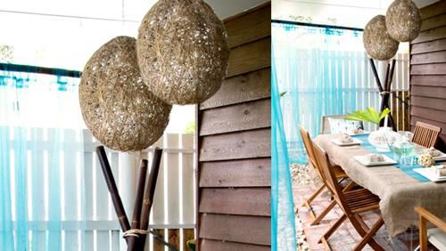 Cuerda decomanitas - Como hacer lamparas de techo modernas ...