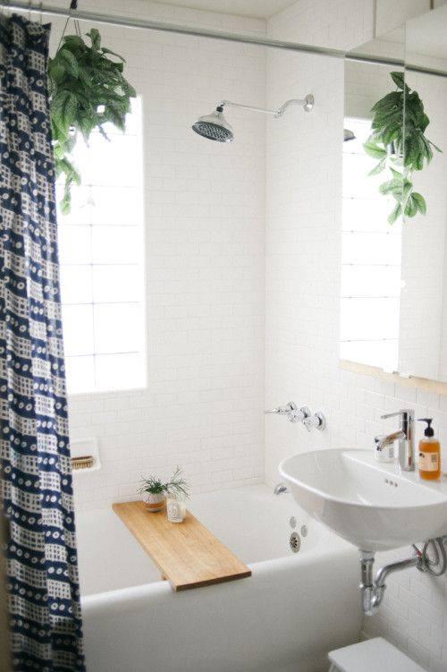 decoracion de cuartos de baño pequeños con ideas vintage 3
