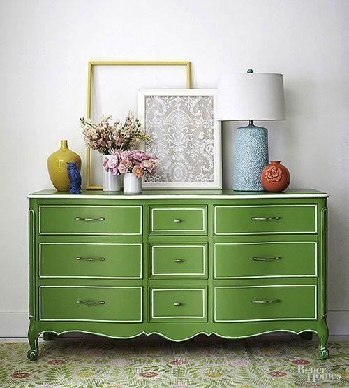 pintar muebles viejos