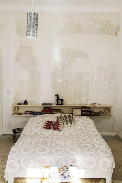 Ideas para pintar una casa paredes vintage con efecto - Pintar paredes blancas ...