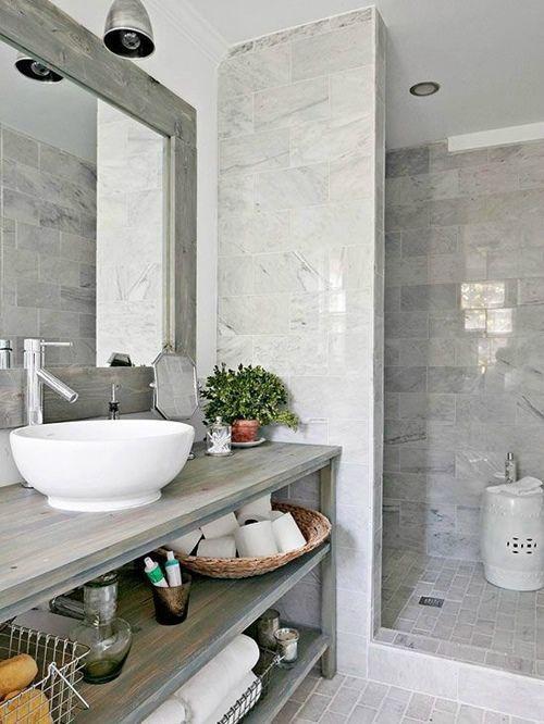 Cortinas De Baño Vintage:12 cuartos de baño con ducha de estilo vintage que querrás copiar