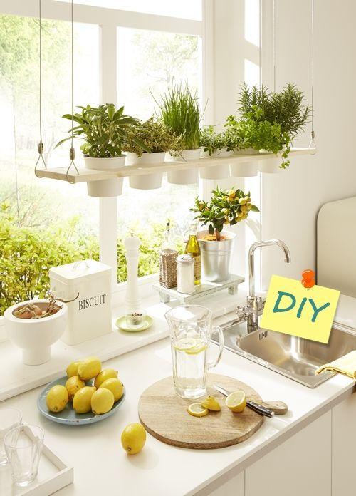 DIY decoracion cómo hacer baldas de madera para plantas 9