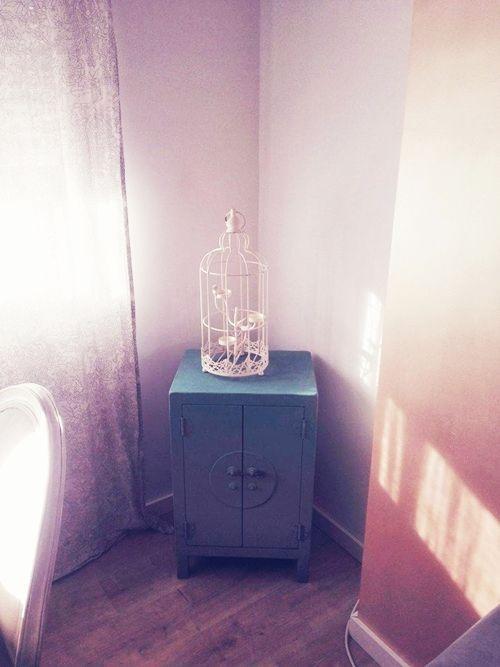 Casas con encanto piso pequeño con decoración boho chic singular 21