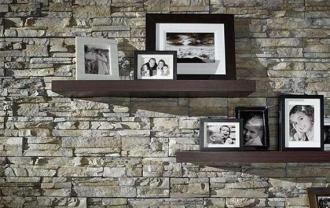 Decoración: paredes de piedra